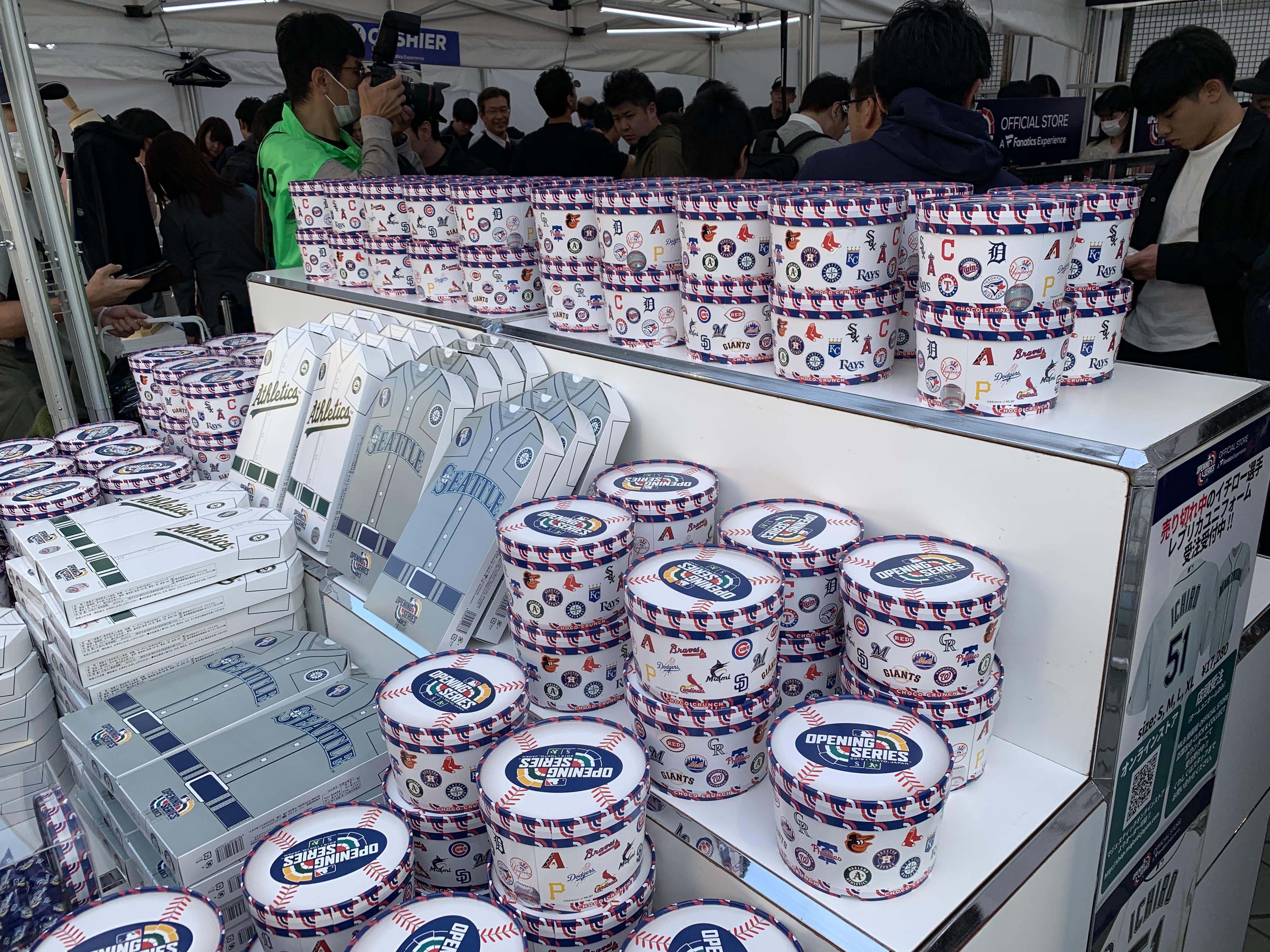 東京ドーム 3月20日 公式グッズのクッキー